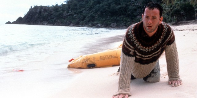 Tom Hanks In 'Cast Away'