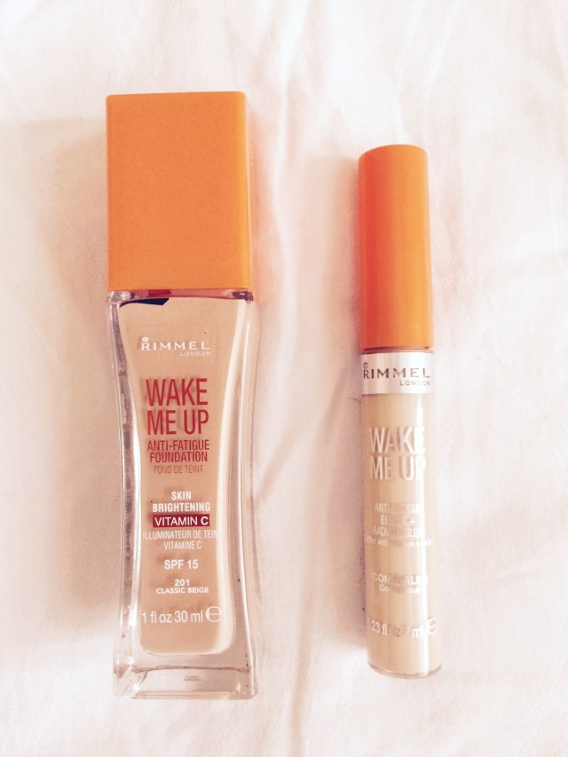 rimmel wake me up foundation and concealer