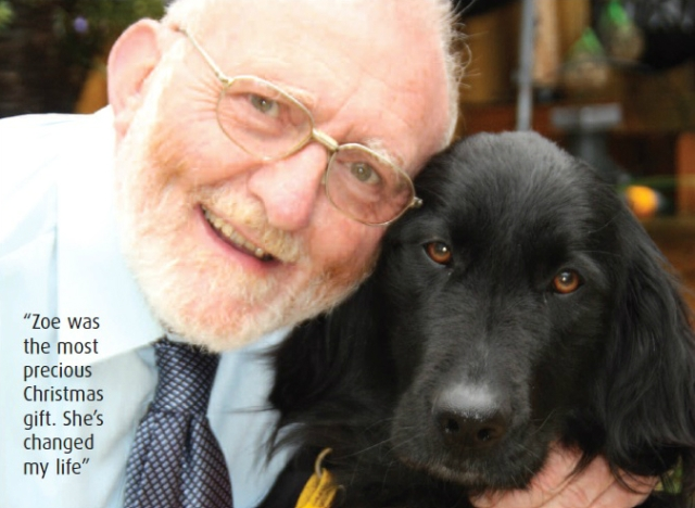Ken James & Zoe - Hearing Dogs