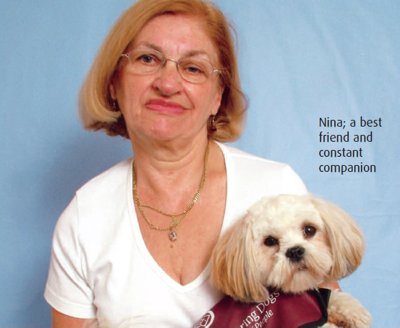 Sheila Aston & Nina - Hearing Dogs